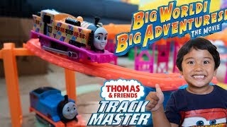 NIA Thomas and Friends Big World Big Adventures Hyper Glow Station Trackmaster Trains for Kids