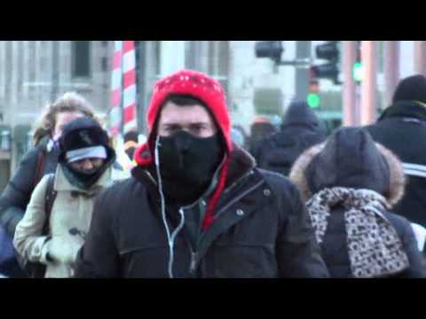 Raw: Chicago Cold Brings Massive Headache