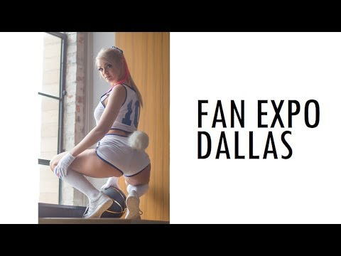 THIS IS FAN EXPO DALLAS! 2018 COSPLAY MUSIC VIDEO VLOG COMIC CON ANIME CON FORTNITE OVERWATCH