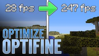 BEST OPTIFINE SETTINGS - GET MORE FPS! | Minecraft 1.12.2