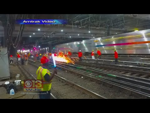 Amtrak Completes First Step In Renovating The Northeast Corridor's Rail System