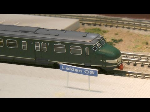 N Scale Fleischmann Model Railway Layout from Holland