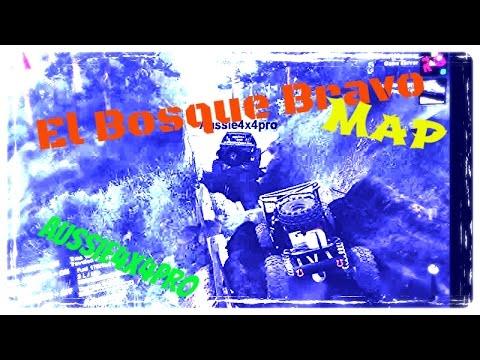 Spin tires Online El Bosque Bravo Map/Aussie4x4Pro