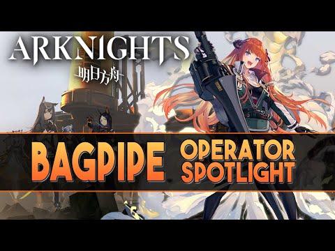 """【明日方舟/Arknights】""""Bagpipe"""" Review + Demonstration - Arknights Operator Spotlight"""