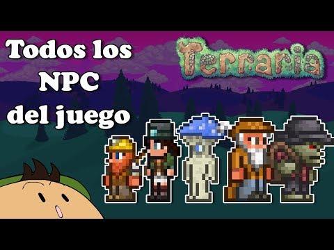 [Terraria 1.3.5] Todos los NPC del Juego
