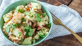Summer Potato Salad with Corn, Radish, and Whole-Grain Mustard