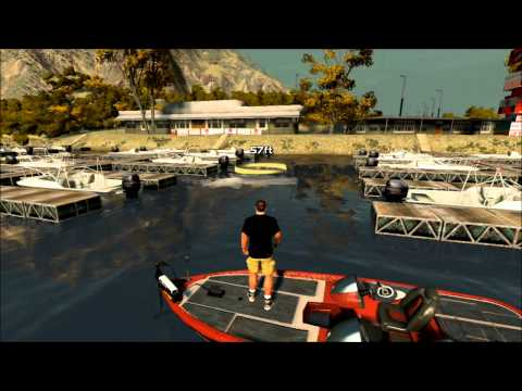 Rapala Pro Bass Fishing - Free Fishing Lake Casitas 2 (PS3)