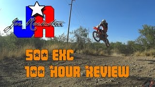 2016 KTM 500 EXC review (100 hr review)