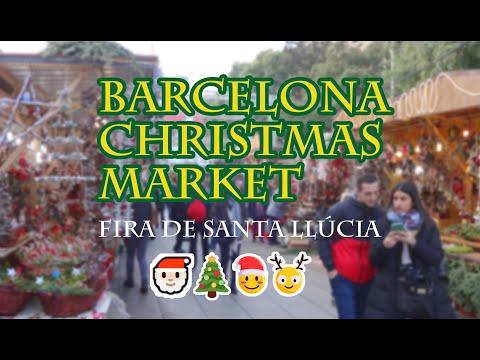 Fira de Santa Llúcia - Barcelona Christmas Market 2018