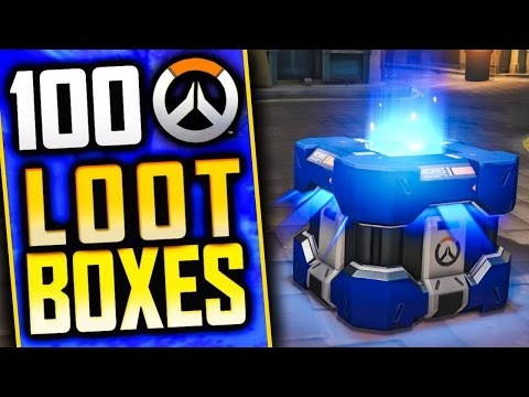 OVERWATCH 100 UPRISING LOOT BOX OPENING + NEW GAME MODE
