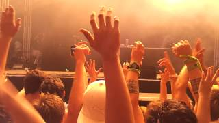 SKRILLEX 2013 South Africa Tour Durban -6- Ganganm Style - Intro