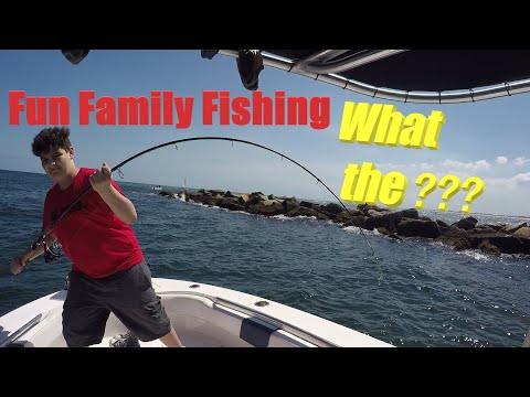 Fun Family Fishing Part 2, At Ponce Inlet/New Smyrna