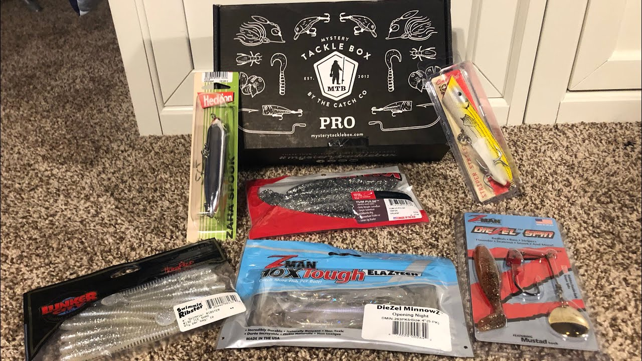New Ultra Premium Mystery Tackle Box  *SALTWATER* Off Shore