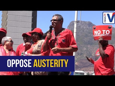 """""""'We want a budget that speaks to our people'', Tony Ehrenreich"""