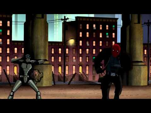 Batman and Red Hood vs The Fearsome Hand of Four [HD]
