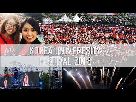 IPSELENTI 2018 Korea University Student Festival | University Life   효린 모모랜드 꺼내 먹어요  BlackPink