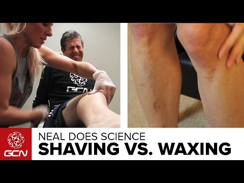 GCN Does Science - Should You Shave Or Wax Your Legs?