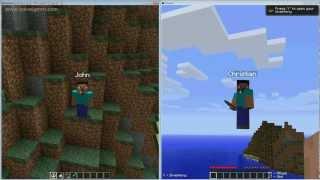 Minecraft: PC Splitscreen Tutorial Part 1