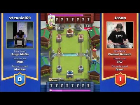 Clash Royale Tournament Helsinki Finland FINALS REPLAY $10,000 Prize!
