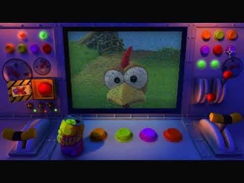 Crazy Chicken: Invasion [2005] (PC) - Longplay |