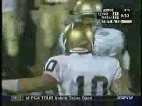 Brady Quinn 2006