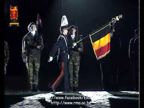 Presentation of the flag of the Royal Military Academy to the promotions 2015