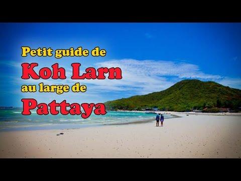 Voyager en Thaïlande : guide pratique Koh Larn (Pattaya)