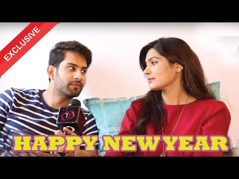 Happy New Year 2018 Plans Of Sahil Uppal & Sangeeta Chauhan | Telly Reporter Exclusive