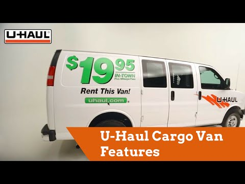 U-Haul Cargo Van Features