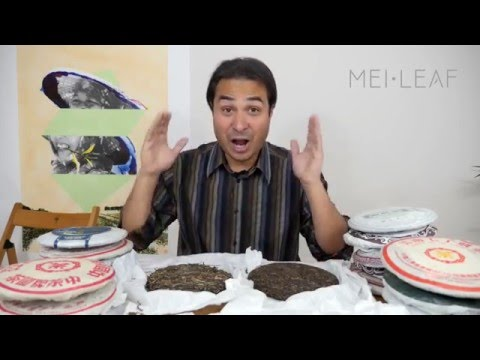 How to Age PuErh Cakes