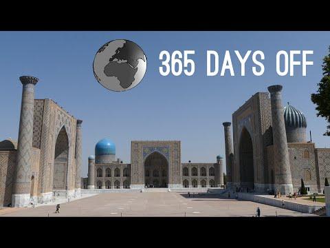 Episode 15 - Uzbekistan - Bukhara, Samarkand / 365 days off