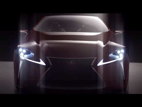 Lexus LF-LC Concept Car - Behind Scenes Design Process With CALTY