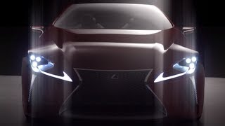 Lexus LF-LC Sports Coupe Concept 2012 Videos