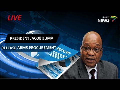 President Zuma release the Arms Procurement Report