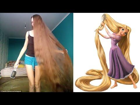 """ตะลึง!!เมื่อ """"ราพันเซล(""""Rapunzel)ในการ์ตูน..มีตัวตน จริงๆอยู่บนโลก???"""