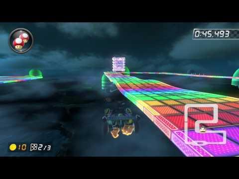 SNES Rainbow Road [150cc] - 1:30.831 - Cipher (Mario Kart 8 Deluxe World Record)
