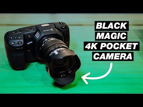 Budget Camera for Filmmaking 2018 — Blackmagic Pocket Cinema Camera 4K First Look thumbnail
