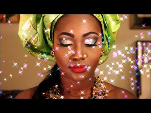 "Bridal Makeup ""African Bride"""