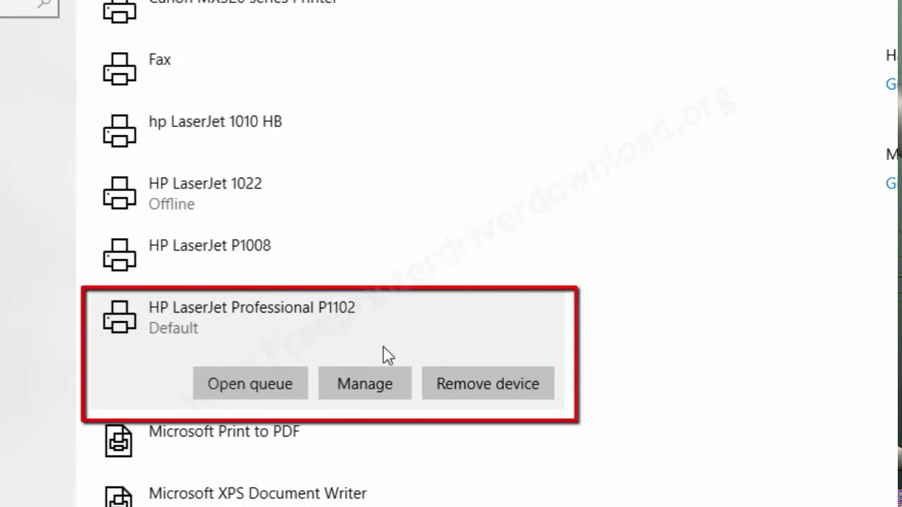 How to Install HP Laserjet p1102 Printer Driver in Windows 10