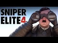 Sniper Elite 4 - İlk Bakış (Askeri Gizlilik)