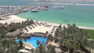 Dubai Luxushotel Le Meridien Mina Seyahi Beach Resort & Marina  Matthias Mangiap Strand