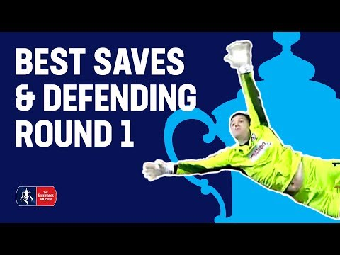 Incredible Saves & Goal Line Clearances!   Best Saves & Defending Round 1   Emirates FA Cup 2018/19