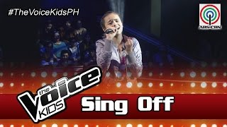 """The Voice Kids Philippines 2016 Sing-Off Performance: """"Unwritten"""" by Hannah"""