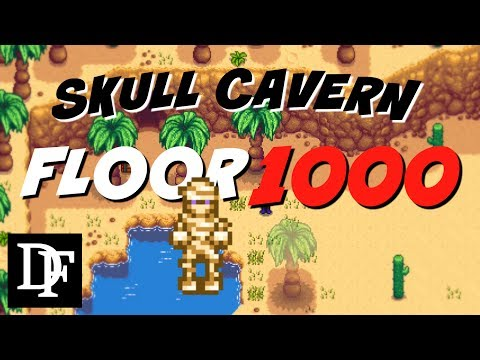 Stardew Valley - Skull Cavern Floor 1000 LIVE