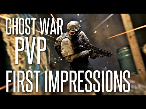 FIRST IMPRESSIONS - Ghost War PVP Beta