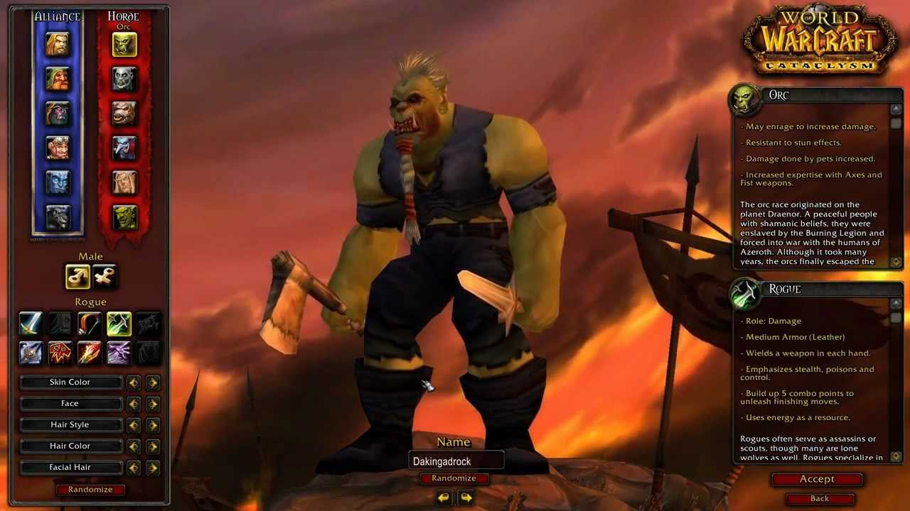 Let S Play World Of Warcraft The Orc Rogue 1 1 Hd Youtube