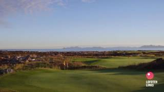 Lofoten Links, Hole 3, Makkleirstranda.