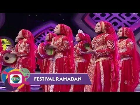 Merah Meriah!! The Amazing Putri Bani Harun Bogor - Padi Menguning | Festival Ramadan