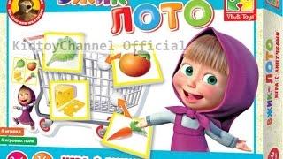 Видео обзор детская игра - Вжик-лото