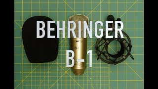 Behringer B-1 (a quick look)
